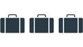 pictogramme véhicule 3 bagages chauffeurs privés